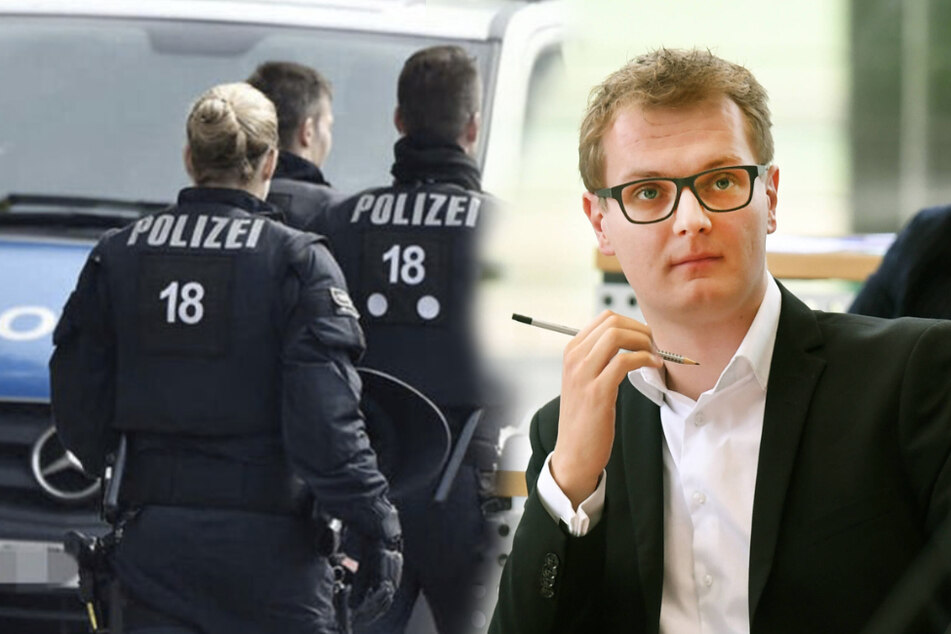 Valentin Lippmann (29, Grüne) fordert eine Rechtsextremismus-Studie für die sächsische Polizei.