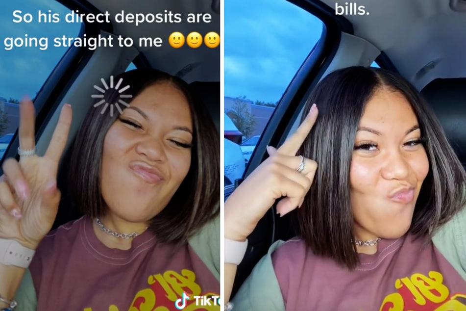 Was für eine bizarre Lüge: Auf TikTok offenbarte Jaynee ihren Followern, dass ihr Freund Miete für eine Wohnung bezahlt, die ihr selbst gehört.