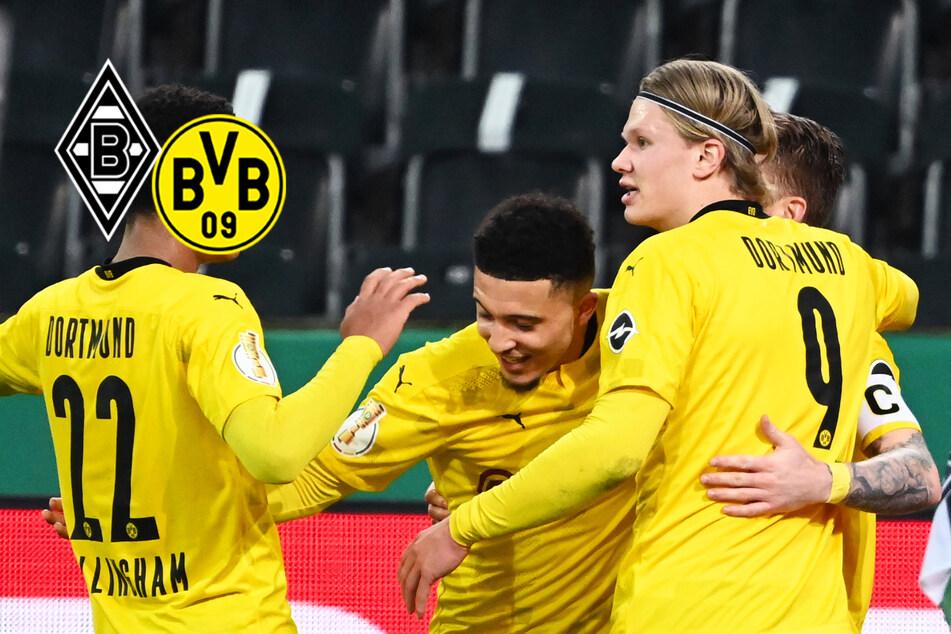 BVB ringt Gladbach nieder: Zwei Tore zählen nach VAR-Eingreifen nicht!