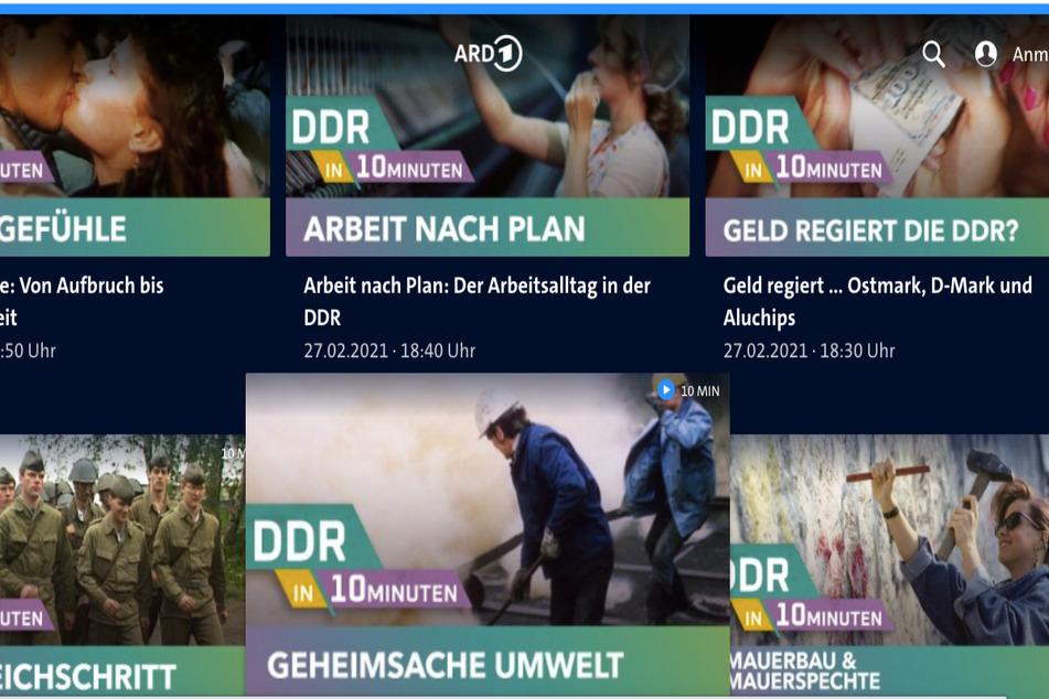 """""""DDR in 10 Minuten""""? MDR arbeitet Ossi-Geschichte auf"""