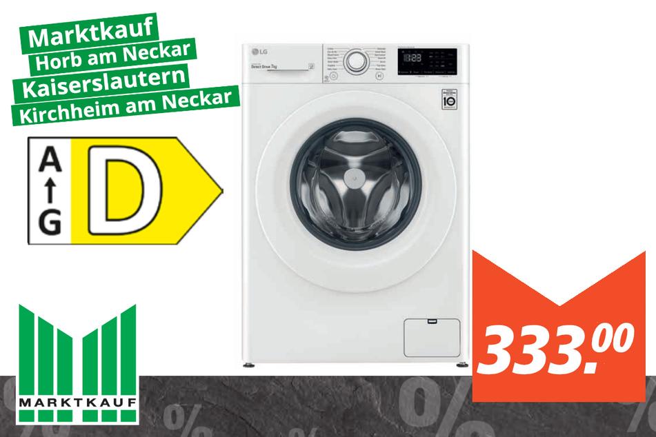 LG Waschmaschine 14WM7LN0E für 333 Euro