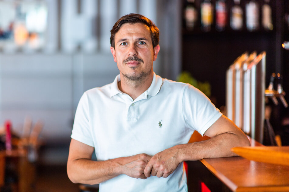 Chemnitzer Gastronom Henrik Bonesky (43) muss schweren Herzens die Wooosn 2021 absagen.