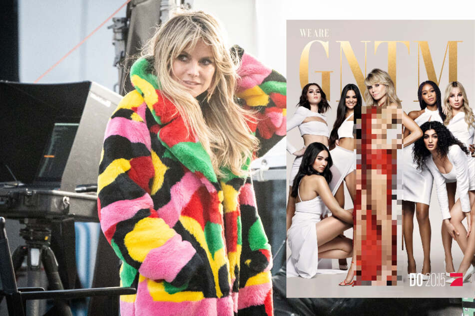 Pro7 heizt GNTM-Fans vor neuer Staffel ein: Heidi Klum in unverschämt knappem Kleid