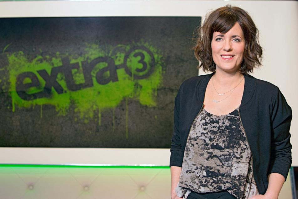 """""""Extra 3""""-Moderatorin Sarah Kuttner (41) führte durch die Sendung."""