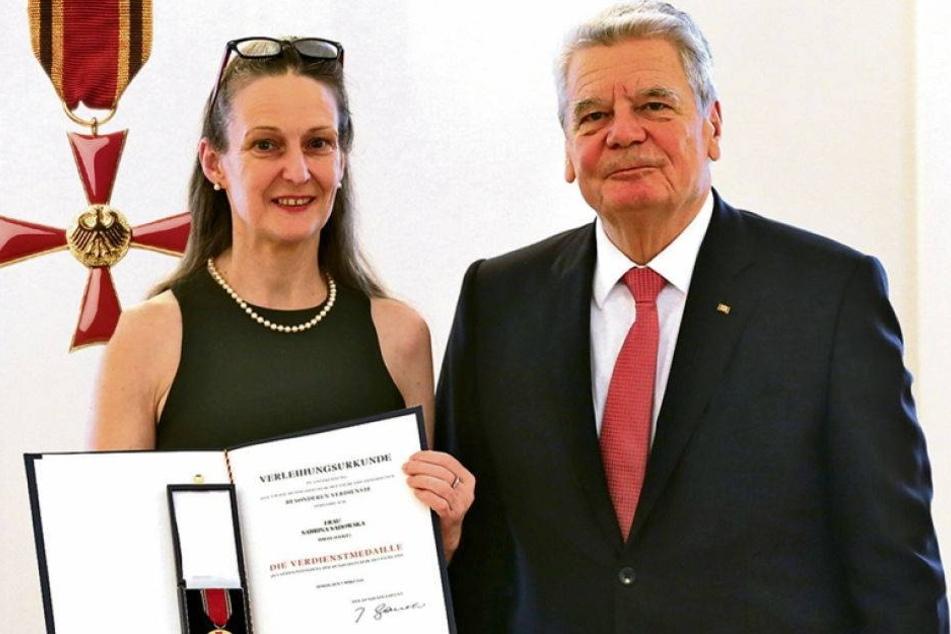 Chemnitzer Tänzerin bekommt Bundesverdienstkreuz