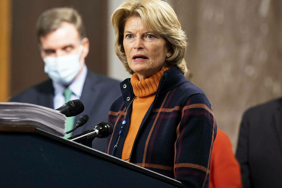 Alaska Senator Lisa Murkowski on Friday became the first Republican in the Senate to call on Trump to resign