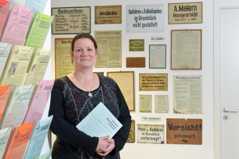 Juristin Katrin Kroupova (46) arbeitet beim Mieterverein Dresden und Umgebung.