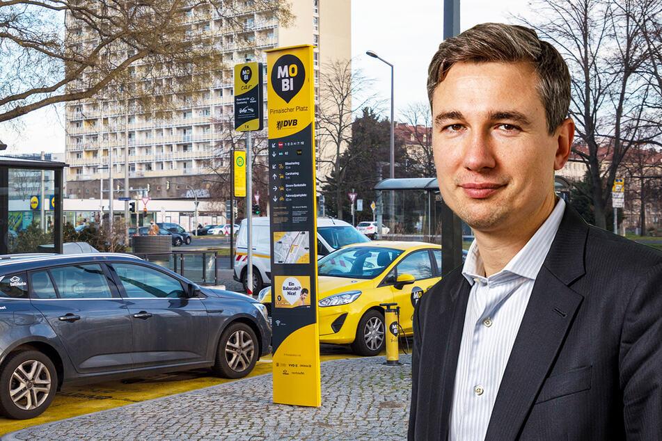 Dresdner Rathaus macht mobil, auch mit Luftstationen für Radler!