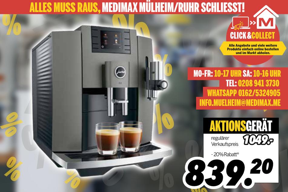 Kaffeevollautomat von Jura für 839,20 Euro