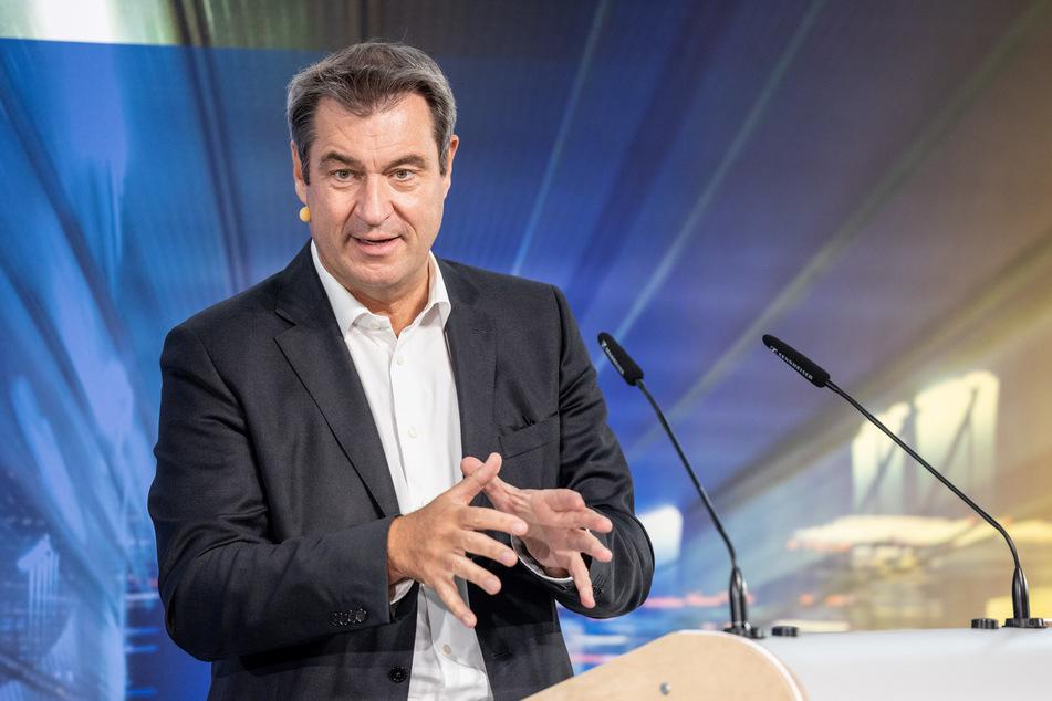 Markus Söder (54), CSU-Parteivorsitzender und Ministerpräsident von Bayern.