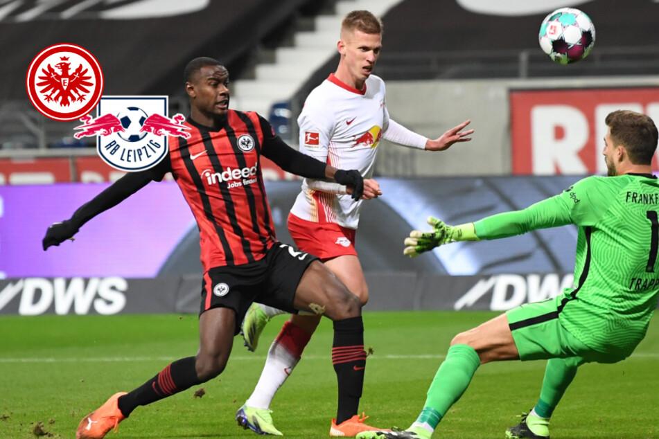 Viel Krampf, wenig Klasse: Eintracht vergibt Führung und teilt Punkte mit RB Leipzig