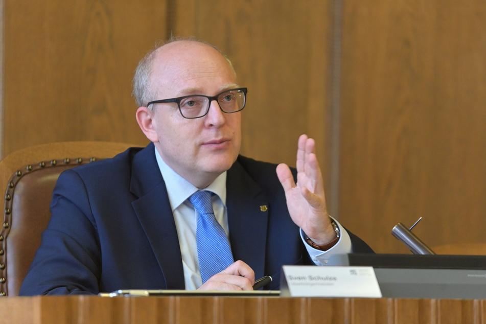 OB Sven Schulze (49, SPD) setzt auf eine enge Abstimmung zwischen Kommune und Polizei.