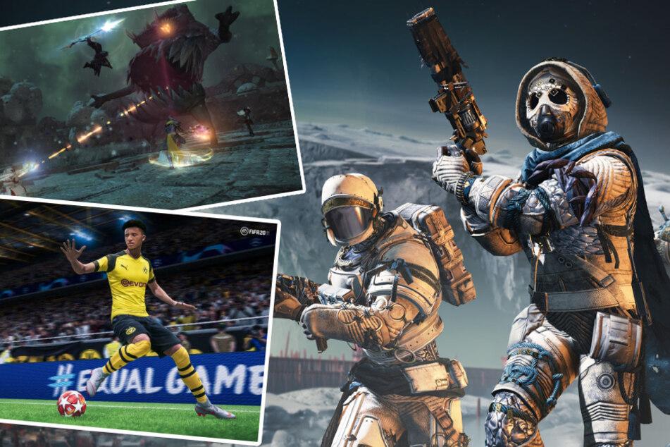 """""""Final Fantasy"""", """"Destiny"""" & Co.: Diese Spiele helfen Euch durch die Corona-Zeit"""