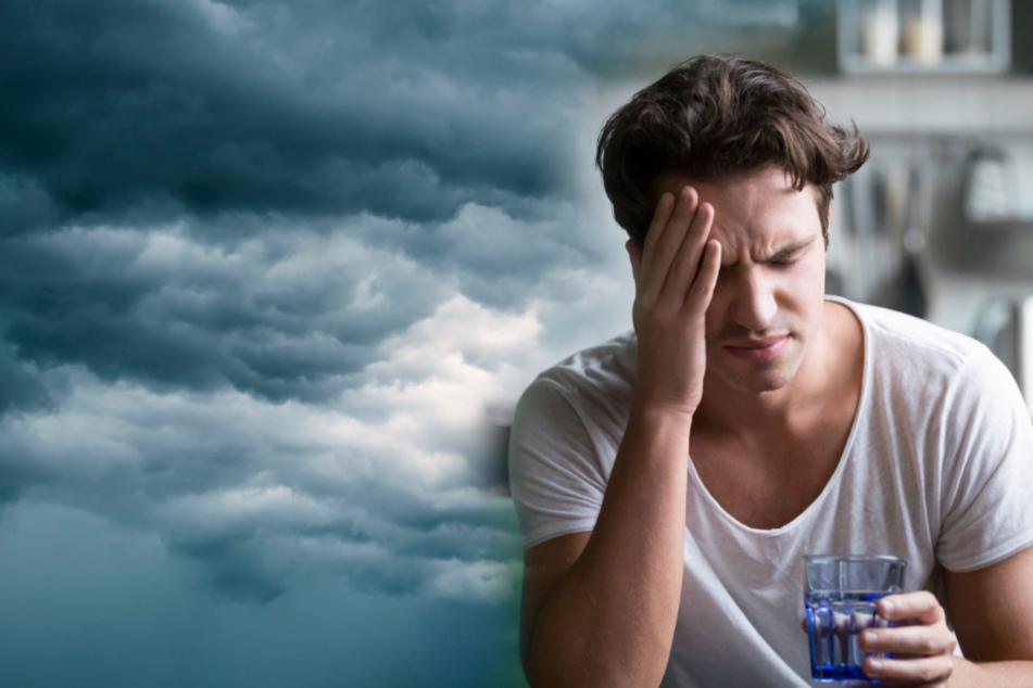 Kopfschmerzen ist die häufigste Beschwerde in Bezug auf Biowetter.