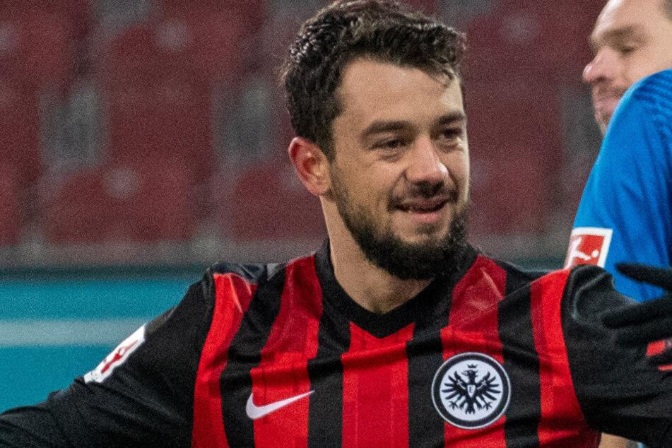Seit seinem Wechsel von der SSC Neapel zu Eintracht Frankfurt dreht Amin Younes (27) richtig auf.