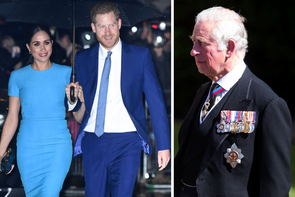 Harry and Meghan will be ditched from the royal family – if Charles has any say