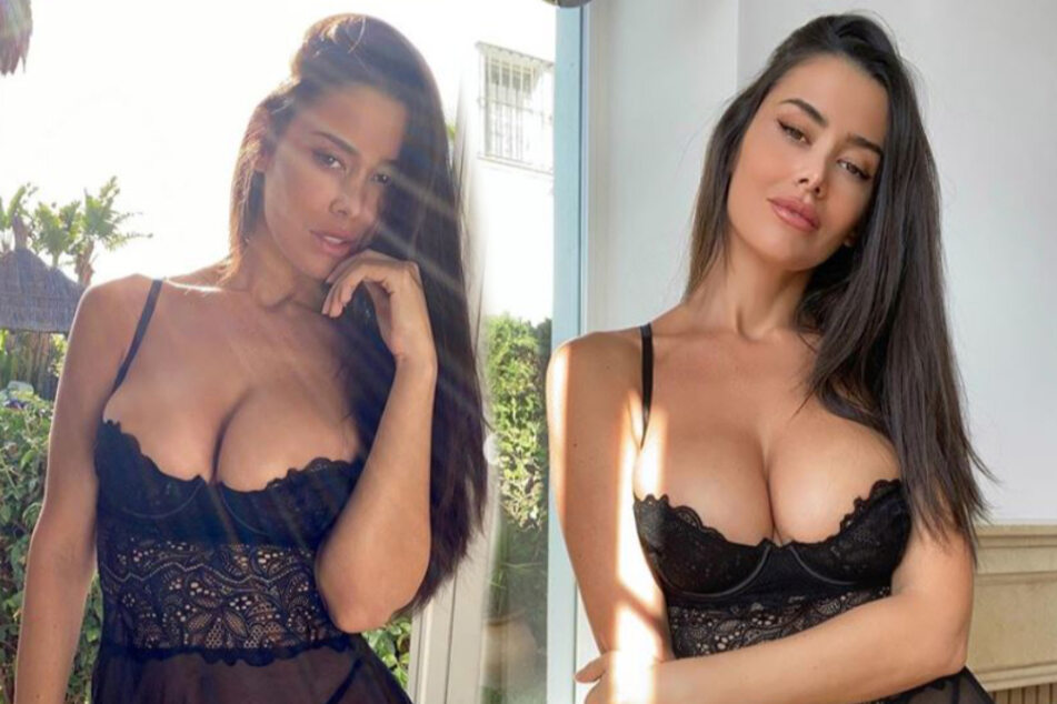 Spanish Instagram model raises the temperature with steamy posts
