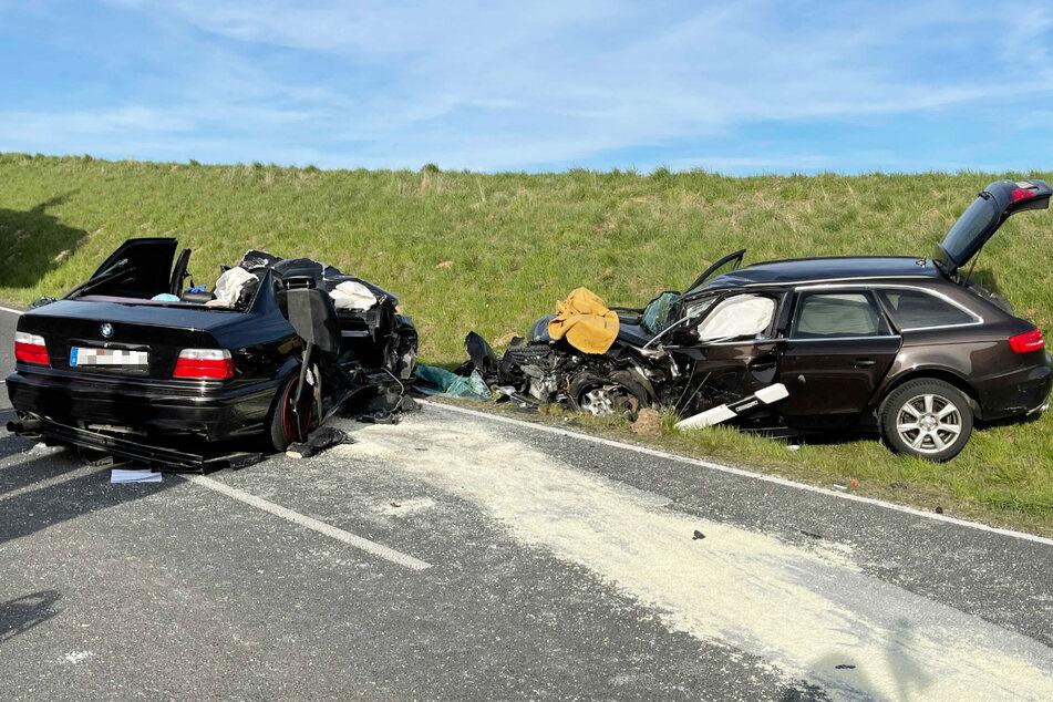 Tödlicher Unfall auf der Kreisstraße WUN18 im Landkreis Wunsiedel! Für einen 31 Jahre alten Mann kam jede Hilfe der Retter zu spät.
