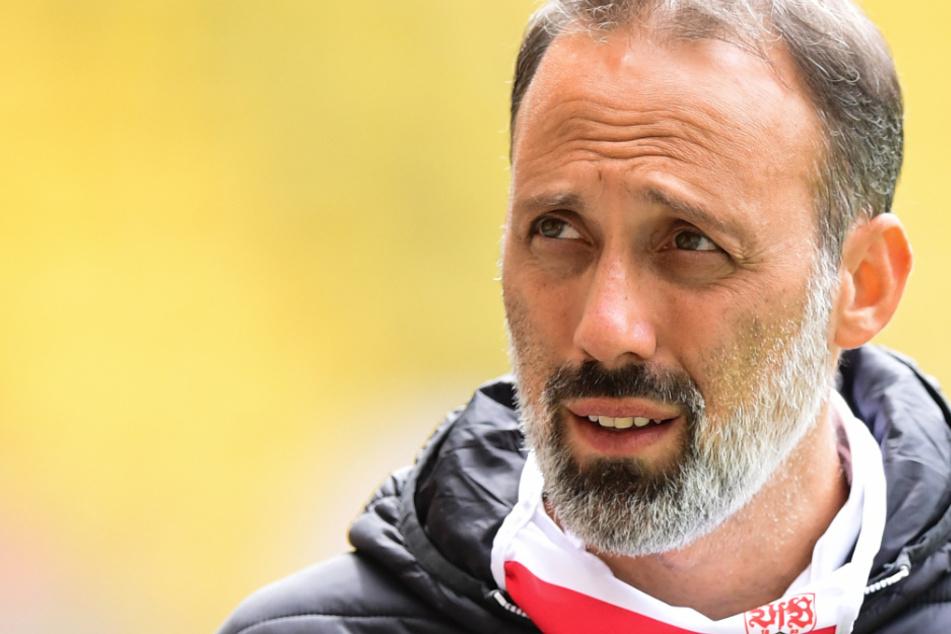 Warnt vor dem Aufsteiger aus Osnabrück: VfB-Coach Pellegrino Matarazzo (42).