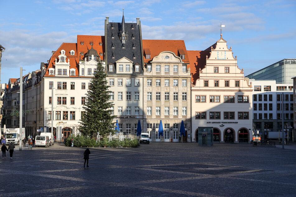 Leipzig: Auch ohne Weihnachtsmarkt: Lichterglanz soll für festliche Stimmung in Leipzig sorgen