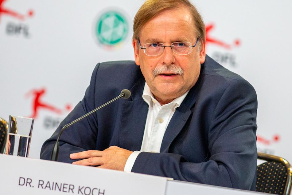 Rainer Koch, Präsident des Bayerischen Fußball-Verbandes (BFV), kritisiert die Regelung im Amateurfußball. (Archivbild)