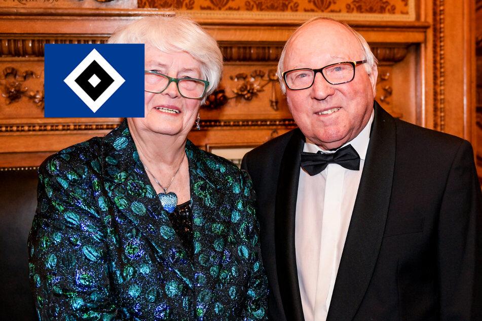 HSV-Legende Uwe Seeler und seine Frau Ilka sind geimpft worden!