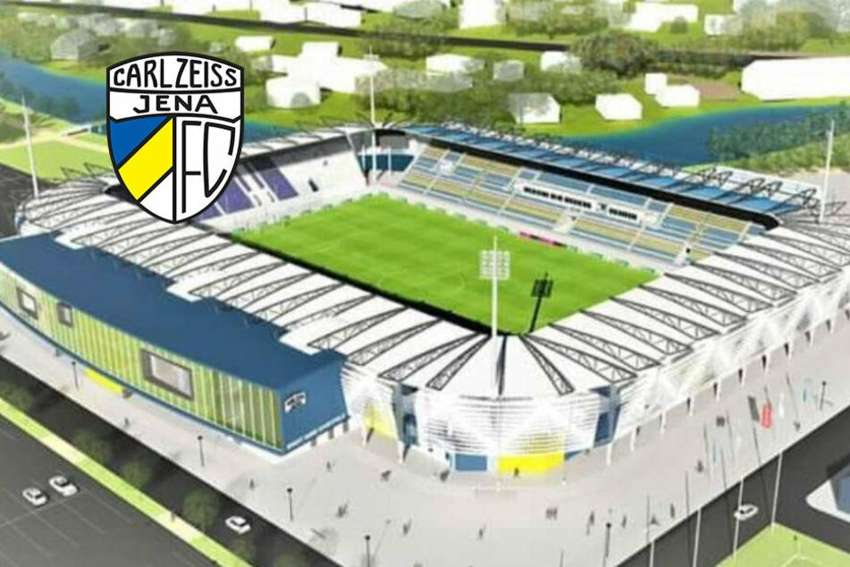 Drittliga-Schlusslicht Jena muss um Stadionbau bangen