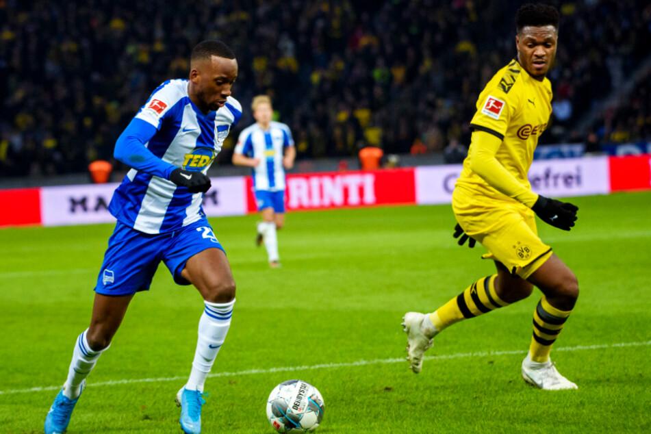 Dan-Axel Zagadou (r., 21) kam in drei Spielzeiten nur auf 60 Einsätze für den BVB.