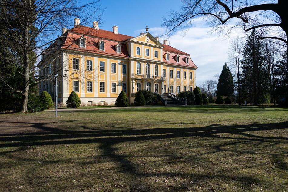 Das Barockschloss Rammenau.
