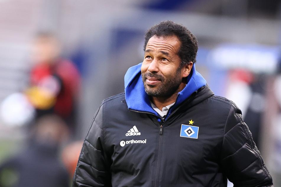 Coach Daniel Thioune (47) ist wild entschlossen: Er will mit dem HSV in die 1. Liga.