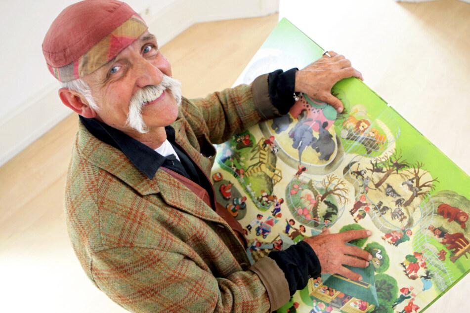Schöpfer der Wimmelbücher: Ali Mitgutsch lässt Stifte ruhen