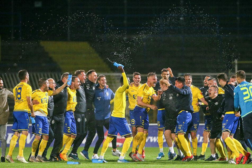 Der 1. FC Lokomotive Leipzig ist zum Meister der abgebrochenen Regionalliga-Nordost-Saison ernannt worden. (Archivbild)