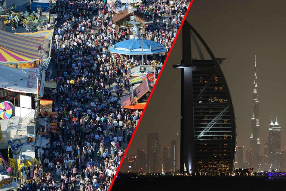 Das Duabi-Oktoberfest muss wegen der Corona-Pandemie verschoben werden. (Montage)