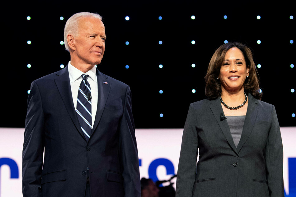 Joe Biden (77) and Kamala Harris (56) have been jointly selected as TIME's 2020 person of the year.