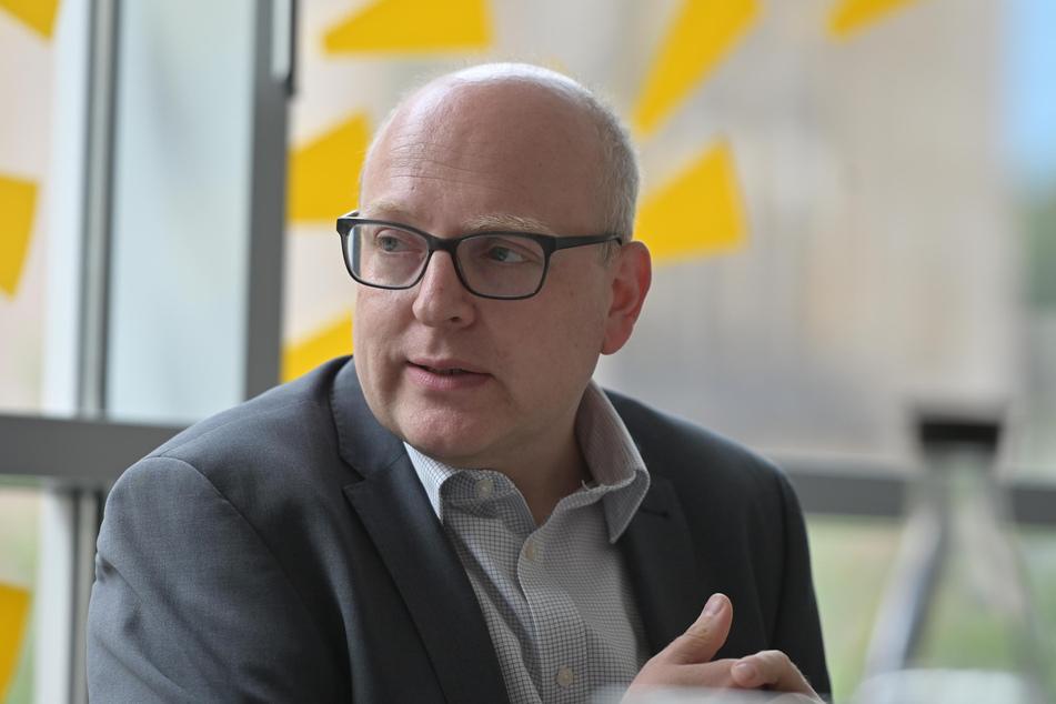 OB Sven Schulze (49, SPD) dankte allen Chemnitzern für ihre Mithilfe im Kampf gegen Corona.