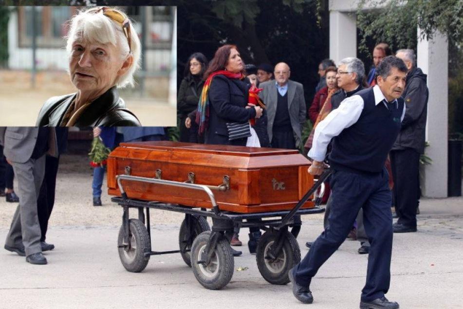 Margot Honecker Beerdigung