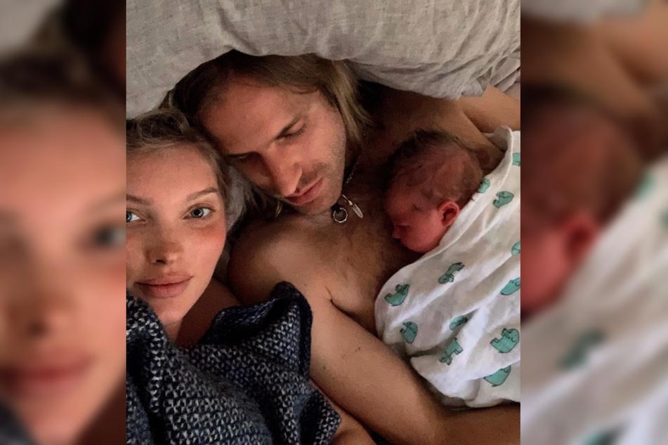 Elsa Hosk (32) und ihr Lebensgefährte Tom Daly (30) schweben im Elternglück!