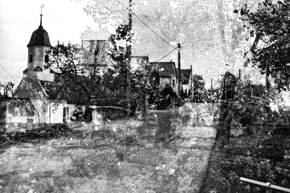 """Die Ausstellung """"Todesmarsch 1945"""" bietet den Besuchern ungewöhnliche, noch nie zuvor gesehene Bilder der tragischen Route Leipzig - Fojtovice."""