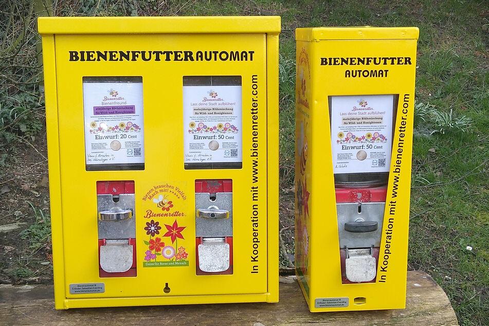 Diese Automaten sollen Bienen retten
