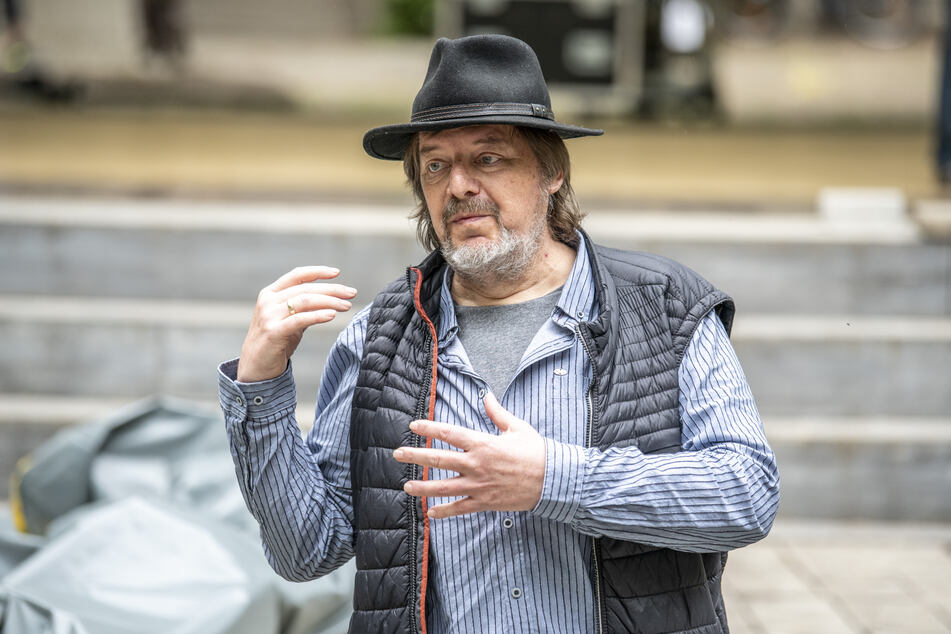 Küchwaldbühnen-Chef Rolf Esche (66) sieht die Überdachung als weiteren Meilenstein.