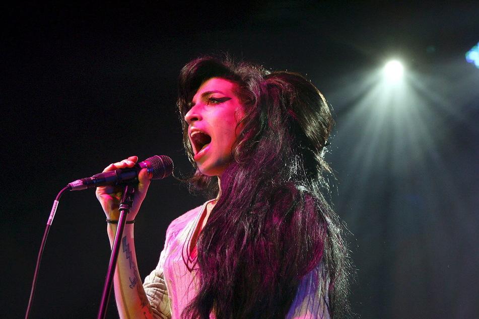 Oktober 2007: Amy Winehouse bei einem Auftritt in Zürich.