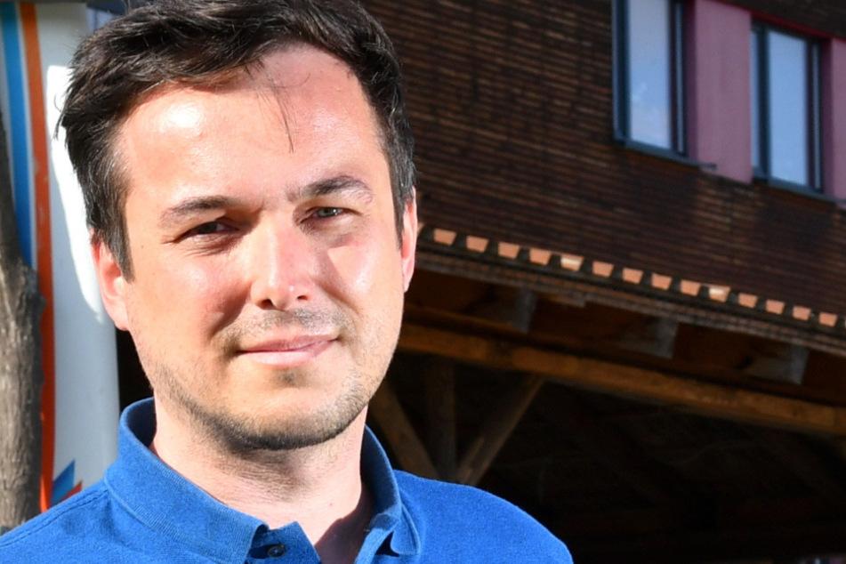 Will mehr Striezelmarkt-Parkplätze: Stadtrat Robert Malorny (41, FDP).