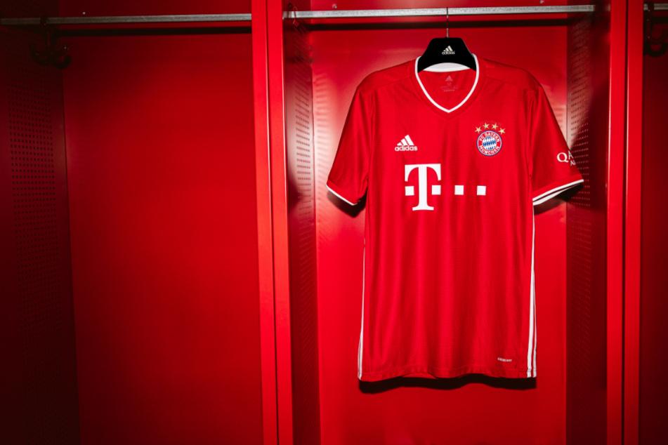 Das neue Heimtrikot des FC Bayern für die Saison 20/21.