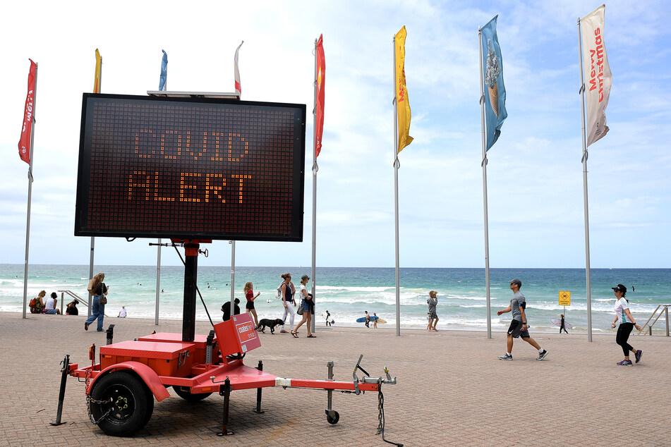 Australien hält aufgrund der Corona-Pandemie seine Landensgrenzen seit März 2020 geschlossen.