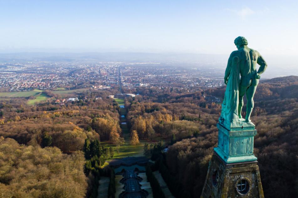 Unesco-Welterbe Bergpark Wilhelmshöhe auch im Corona-Jahr beliebt