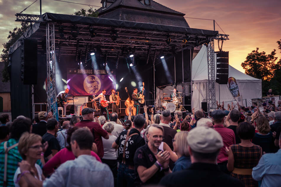 Die Rock-'n'-Roll-Band aus Leipzig veranstaltet ein Musik- und Tanzfestival mit 30 Bands und mehreren Tausend Besuchern.