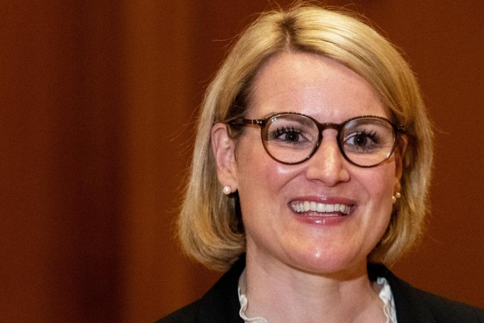 Eva Weber (CSU) setzte sich in der Stichwahl um das Amt des Oberbürgermeisters durch.