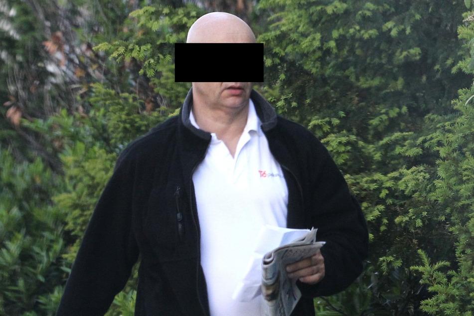 Helge W. (64) soll die ergaunerten Gelder an die türkische Bande weitergereicht haben.