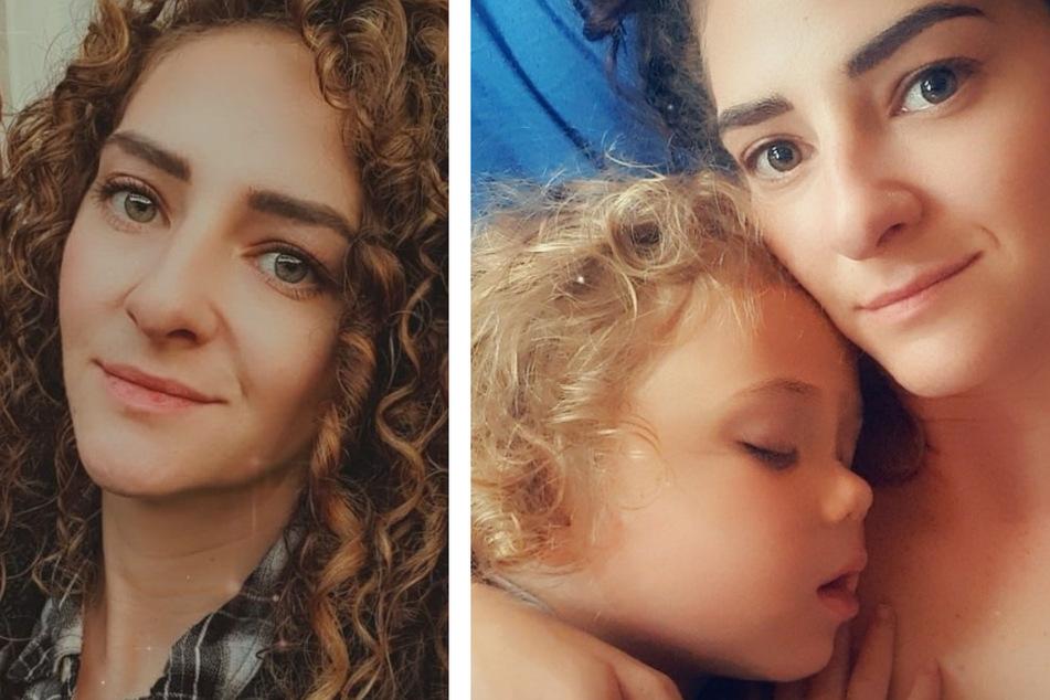 Beccy Ashe (35) hat ihre Tochter bis zum fünften Lebensjahr gestillt.