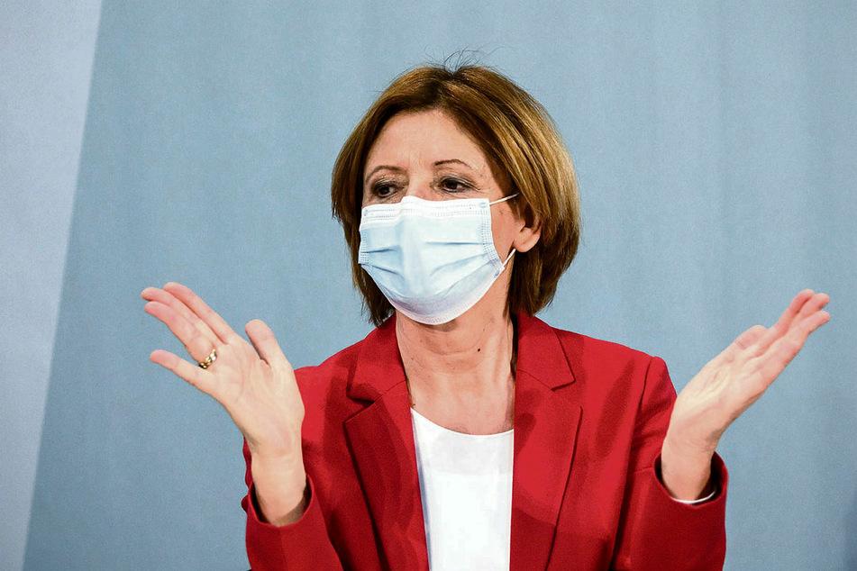 Malu Dreyer (59, SPD), die Ministerpräsidentin von Rheinland-Pfalz, beklagte, dass ihr Bundesland überhaupt keine Impf-Planungssicherheit hätte.